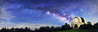 Antares Photograph - Milky Way Over Palomar Observatory by Walter Pacholka, Astropics