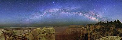 Grand Canyon Photograph - Milky Way Over The Grand Canyon by Walter Pacholka, Astropics