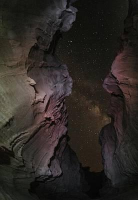 Milky Way Over The Persian Gulf Art Print by Babak Tafreshi