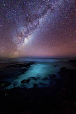 Photograph - Milky Way Over The Southern Ocean by John White Photos