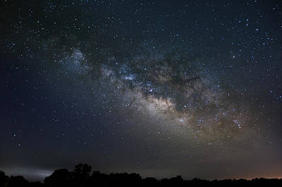 Photograph - Milky Way Above The Trees by Todd Aaron