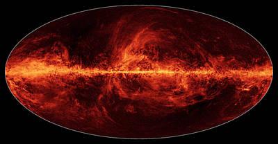Deep Sky Photograph - Milky Way, Polarized Light by Science Source