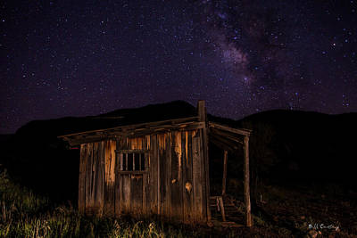 Milky Way Rising Art Print by Bill Cantey