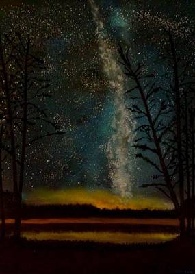 Milky Way Art Print by Steve Hermann