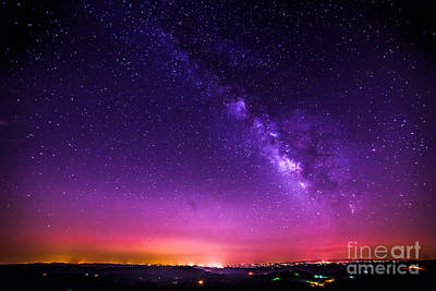 Milky Way Sunrise Art Print
