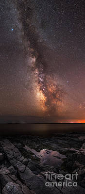 Milky Way Tide Pool Art Print