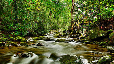 Photograph - Mill Along Mountain Stream by Brad Marzolf Photography