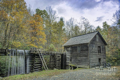 Photograph - Mill And Sluice by David Waldrop