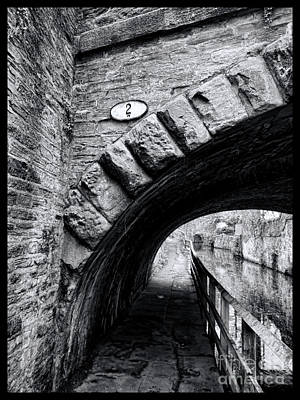 Aqueduct Digital Art - Mill Bridge by Gillian Singleton