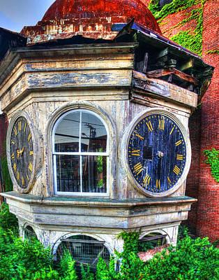Photograph - Mill Clock 002 by Jeff Stallard