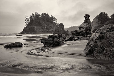 Mill Creek And Pewetole Island At Trinidad State Beach Art Print