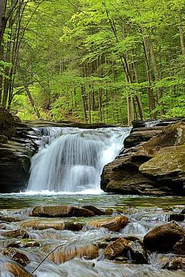 Photograph - Mill Creek Falls #2 by Joel E Blyler