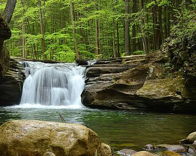 Photograph - Mill Creek Falls #1 by Joel E Blyler