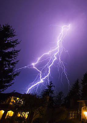 Royalty-Free and Rights-Managed Images - Mill Creek Lightning by Ryan McGinnis
