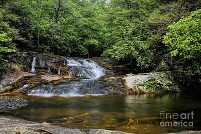 Photograph - Mill Creek Upper Falls by Barbara Bowen