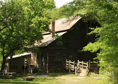 Photograph - Mill On The Eno by Sandra Clark