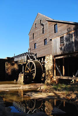 Photograph - Mill Reflection by Bob Sample