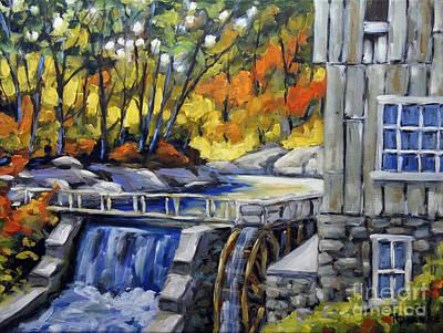 Mill Scene Woods By Prankearts Original