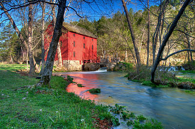 Photograph - Mill Stream by Steve Stuller