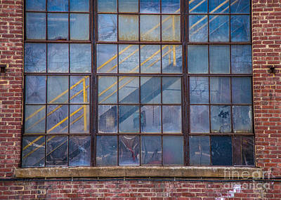 Photograph - Mill Window by Alana Ranney