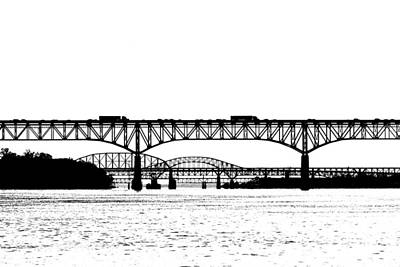 Susquehanna River Photograph - Millard Tydings Memorial Bridge by William Jobes