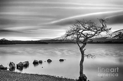 Millarochy Bay Loch Lomond  Art Print
