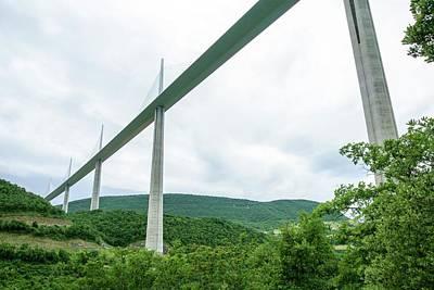 Millau Viaduct Art Print