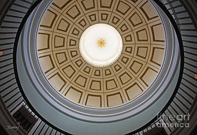 Photograph - Milledgeville Dome by Sally Simon