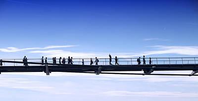 Caravaggio - Millenium Bridge London by Chevy Fleet
