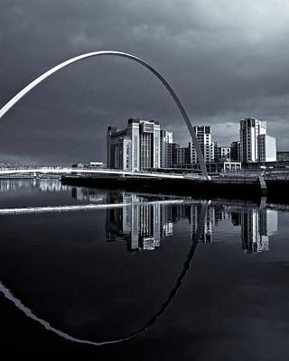 Photograph - Millenium Bridge by Stephen Taylor