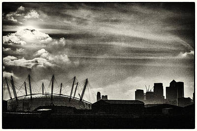 Photograph - Millenium Dome And The City by Lenny Carter