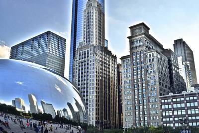 Athletes Royalty-Free and Rights-Managed Images - Millenium Park by Frozen in Time Fine Art Photography