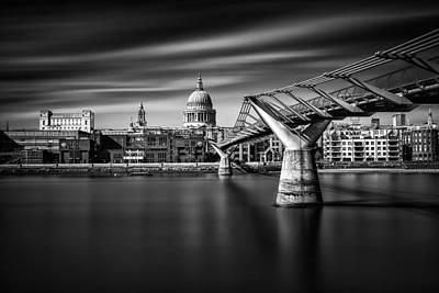 Millennium Bridge Art Print