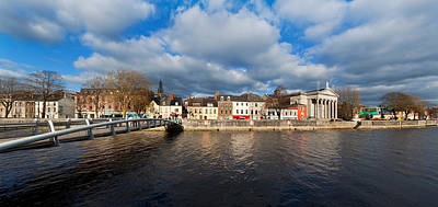 County Cork Photograph - Millennium Bridge Over The River Lee by Panoramic Images