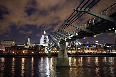 Photograph - Millennium Bridge by Stephen Norris