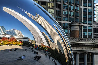 Photograph - Millennium Cloud Gate by Anthony Citro