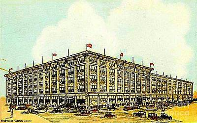 Painting - Miller And Rhoads Department Store In Richmond Va 1910 by Dwight Goss
