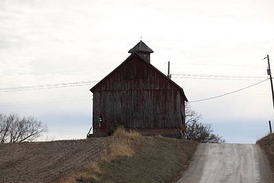 Photograph - Miller  Barn by Kathy Cornett
