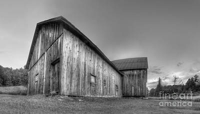 Miller Barn At Port Oneida Art Print