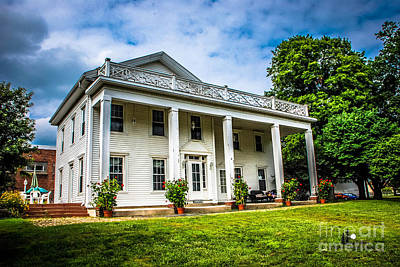 Photograph - Miller Farm House by Grace Grogan