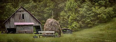 Photograph - Miller Farmstead Barn by Heather Applegate