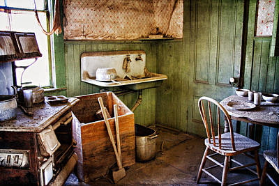 Photograph - Miller Kitchen by Lana Trussell