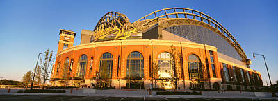 Miller Park Photograph - Miller Park Milwaukee Wi by Panoramic Images
