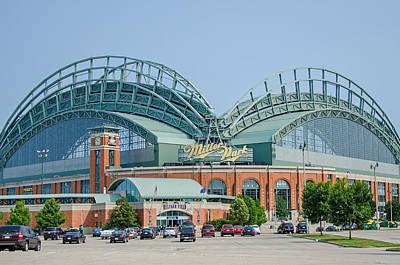 Photograph - Miller Park Stadium  by Susan McMenamin