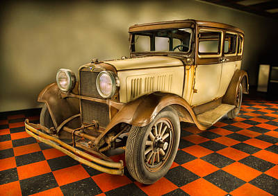 August Photograph - Millers Chop Shop 1929 Dodge Victory Six Before by Yo Pedro