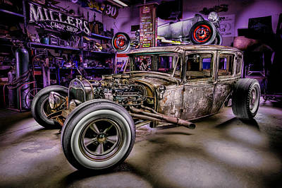 Photograph - Millers Chop Shop 1929 Ford Murray by Yo Pedro
