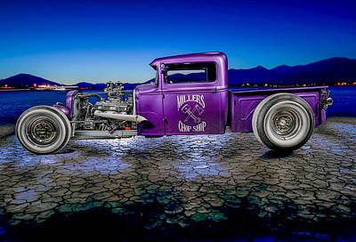 Photograph - Millers Chop Shop 1931 Model A Pickup by Yo Pedro