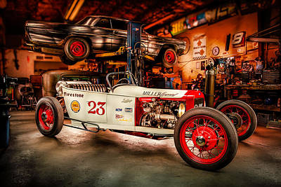 August Photograph - Millers Chop Shop Track T Toyota by Yo Pedro