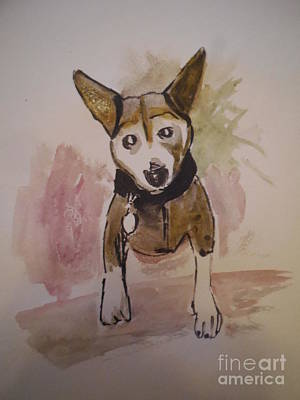 Mongrel Painting - Millie by James Christiansen