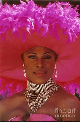Photograph - Million Dollar Diva Eye See Colours At  Southern Decadence In New Orleans Louisiana by Michael Hoard